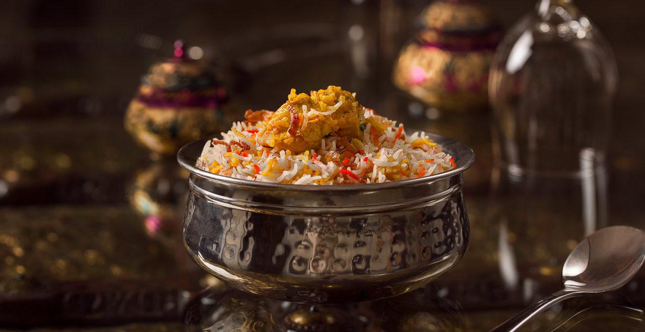 Indian food, biryani