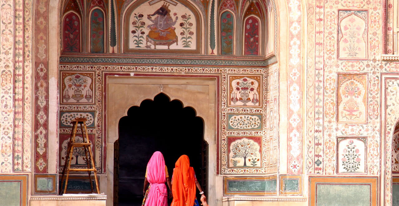 women in Jaipur, India